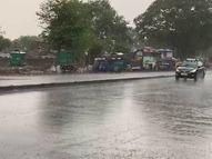 વડોદરા અને સુરત ધીમીધારે તો અમદાવાદમાં ભારે પવન સાથે ધોધમાર વરસાદ, વૃક્ષો ધરાશાયી, છાપરાઓ ઉડ્યાં|અમદાવાદ,Ahmedabad - Divya Bhaskar