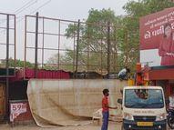 જિલ્લામાં તાઉતે વાવાઝોડાની સંભાવના પગલે તૈયારી ,સાંતલપુર,રાધનપુરના 127 ગામ એલર્ટ|પાલનપુર,Palanpur - Divya Bhaskar