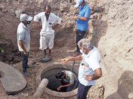 પાટણ શહેરમાં ચોમાસા પહેલા પાણીના નિકાલ માટે 9 રિચાર્જવેલ પુનર્જીવિત કરાશે|પાટણ,Patan - Divya Bhaskar