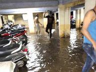પ્રી મોનસૂન એક્ટિવિટીથી ભારે પવન સાથે શહેરમાં સરેરાશ અડધા ઇંચથી વધુ વરસાદ અમદાવાદ,Ahmedabad - Divya Bhaskar