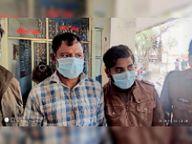 नकली सोने की चार मोहर से फायनेंस कंपनी से लेने गए थे गोल्ड लोन, पुलिस ने दो युवक पकड़े|भिंड,Bhind - Dainik Bhaskar