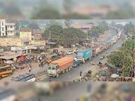 328 वाहनों की हुई जांच, 53 चालकों से वसूला गया 1.28 लाख रुपए जुर्माना|पटना,Patna - Dainik Bhaskar