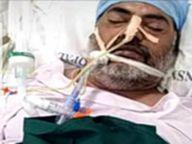 डॉ. शुभम के बाद अब लापरवाही के शिकार हुए स्वामी, फेफड़े 90% खराब, मौत|सागर,Sagar - Dainik Bhaskar