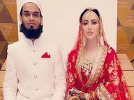सना खान ने मेल्विन लुईस से धोखा मिलने के बाद की मुफ्ती अनस से शादी, इन सेलेब्स को भी नाकाम रिश्ते के बाद मिला प्यार|बॉलीवुड,Bollywood - Dainik Bhaskar