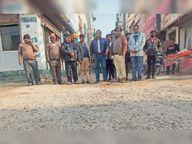 ज्यादा आबादी वाले एरिया की सड़कें टूटीं, जहां रसूखदार लोगों के पीजी, वहां सड़कें बन रहीं|जीरकपुर,Zirakpur - Dainik Bhaskar
