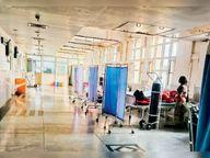 19 दिन में 398 लाेग पाॅजिटिव, 5 मरीजाें की हुई माैत, एक्टिव कैटेगरी में अभी भी 191 मरीज|पंचकूला,Panchkula - Dainik Bhaskar