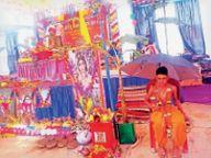 भगवान वामन अवतार व कृष्ण जन्म की कथा सुनाई|डौंडीलोहारा,Doundilohara - Dainik Bhaskar