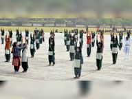 इस बार आठवीं क्लास तक के बच्चे नहीं ले पाएंगे हिस्सा|पंचकूला,Panchkula - Dainik Bhaskar