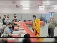 पति, मां व पत्नी अलग-अलग वार्डों से लड़ रहे थे चुनाव पत्नी ने वापस लिया पर्चा, मां आैर बेटा लडें़गे निर्दलीय|पाली,Pali - Dainik Bhaskar