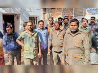 गाड़ी से सिलेंडर चुराते युवक पकड़े, दोनों को जेल भेजा|शिवपुरी,Shivpuri - Dainik Bhaskar