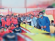 बिनकरा ने जीती वीर शहीद गौतम राजवाड़े क्रिकेट प्रतियोगिता|लखनपुर,Lakhanpur - Dainik Bhaskar