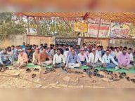 सचिवों की हड़ताल काे मनरेगा संघ का समर्थन|डौंडीलोहारा,Doundilohara - Dainik Bhaskar