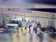 बैराड़ ला रहे 1.25 लाख की अवैध शराब पकड़ी|शिवपुरी,Shivpuri - Dainik Bhaskar