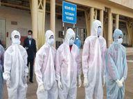 कोरोना से एक की मौत, 44 लोगों की रिपोर्ट आई पॉजिटिव, 67 ठीक हुए|मोहाली,Mohali - Dainik Bhaskar