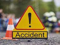 ट्रैक्टर ने मारा कट, बाइक से भिड़ंत, एक किशोरी की मौत|छतरपुर (मध्य प्रदेश),Chhatarpur (MP) - Dainik Bhaskar