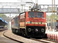 किसान आंदोलन के कारण रेलवे ने बदला चार ट्रेनों का रास्ता|रतलाम,Ratlam - Dainik Bhaskar