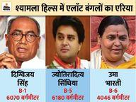 भोपाल के श्यामला हिल्स में बंगला B-5 एलॉट, पूर्व CM उमा भारती और दिग्विजय से बड़ा घर मिला|भोपाल,Bhopal - Dainik Bhaskar