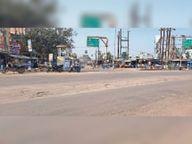 सड़कों पर सुरक्षा की व्यवस्था किए बिना ही नियम पालन पर सख्ती, डेंजर जाेन में भी नहीं लगे संकेतक|लखीसराय,Lakhisarai - Dainik Bhaskar