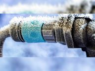 एक दिन में साढ़े तीन डिग्री लुढ़का तापमान, 0डिग्री पर पहुंचा, जमी बर्फ|सिरोही,Sirohi - Dainik Bhaskar