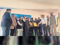 दी आनंदीलाल पोदार ट्रस्ट का 100 वां स्थापना दिवस मनाया, रामनाथ ए पोदार को याद किया|झुंझुनूं,Jhunjhunu - Dainik Bhaskar