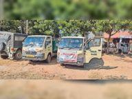 झुंझुनूं शहर में नए ठेकेदाराें काे नहीं मिल रहे सफाई कर्मचारी, इसलिए शहर में बिगड़ने लगी सफाई व्यवस्था|झुंझुनूं,Jhunjhunu - Dainik Bhaskar