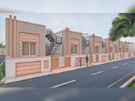 विरात्रा बिल्डर्स ने मगरा में शुरू की सीएम आवास योजना|बाड़मेर,Barmer - Dainik Bhaskar