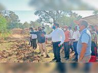 कलेक्टर ने गौठान में चल रहे गतिविधियों का लिया जायजा बालोद,Balod - Dainik Bhaskar