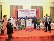 21 कोरोना वॉरियर्स को किया सम्मानित|जगदलपुर,Jagdalpur - Dainik Bhaskar