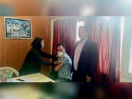 अभी तक 2595 को दी जा चुकी कोविशील्ड वैक्सीन, शुक्रवार को मिले दो नए कोरोना मरीज|भिवानी,Bhiwani - Dainik Bhaskar