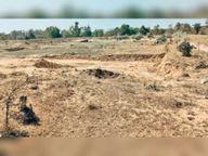 जनवरी में ही सूखा 40 लाख का बेवरती तालाब|कांकेर,Kanker - Dainik Bhaskar
