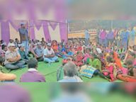आमाबेड़ा क्षेत्र की समस्या को लेकर आप ने किया प्रदर्शन, सीएम के नाम सौंपा ज्ञापन|कांकेर,Kanker - Dainik Bhaskar
