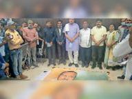 कृषि मंत्री रविंद्र चौबे ने किया जनपद पंचायत संसाधन केंद्र का लोकार्पण बेमेतरा,Bemetara - Dainik Bhaskar