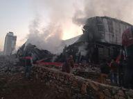 टेंट हाउस गोदाम में लगी भीषण आग, 15 दमकल ने 8 घंटे में आग पर पाया काबू|जयपुर,Jaipur - Dainik Bhaskar