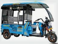 डूंगरपुर में पहली बार 3 ग्राम पंचायतों में चलेगा 13 बैटरी चलित ई-रिक्शा|डूंगरपुर,Dungarpur - Dainik Bhaskar