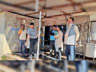 दूध डेयरी प्लांट में मिली गंदगी, तहसीलदार ने जताई नाराजगी|सोहागपुर,Sohagpur - Dainik Bhaskar