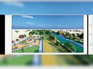400 करोड़ से बनेगा 31 किमी का जोजरी रिवर फ्रंट सालभर बहेगा पानी, पार्क-कैफेटेरिया भी होंगे|जोधपुर,Jodhpur - Dainik Bhaskar