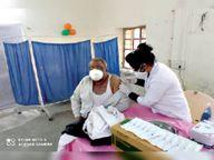 तीन दिन में 79.39% हेल्थ वर्कर्स ने लगवाई वैक्सीन डरें नहीं, आगे आएं दवा सुरक्षित है|भीलवाड़ा,Bhilwara - Dainik Bhaskar