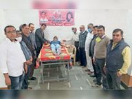 पूज्य सिंधी पंचायत विकास समिति और झूलेलाल युवा मंडल के संयुक्त तत्वावधान में आयाेजन हुआ|चित्तौड़गढ़,Chittorgarh - Dainik Bhaskar