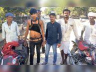 बकरियां चराते दो युवकों और बालक पर तेंदुए का हमला, एक घायल, दो ने भागकर बचाई जान|उदयपुर,Udaipur - Dainik Bhaskar