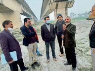 डुमरियाघाट में बन रहे नए पुल का शेष काम 200 करोड़ में होगा पूरा, पहल जारी|गोपालगंज,Gopalganj - Dainik Bhaskar