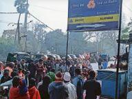 यातायात नियमों का सही से पालन नहीं करने के चलते ही सड़क दुर्घटनाओं में हो रहा है जान-माल का नुकसान|जहानाबाद,Jehanabad - Dainik Bhaskar