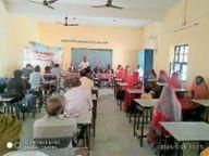 दो दिवसीय कार्यशाला में सोलह स्कूलों के 96 सदस्य ले रहे भाग|बाड़मेर,Barmer - Dainik Bhaskar