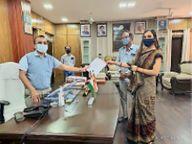 स्थानीय बेरोजगारों को बीएसपी के ठेके में काम देने की मांग दल्ली राजहरा,Dallirajhara - Dainik Bhaskar