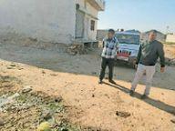 ईओ चौधरी ने किया डब्ल्यूबीएम सड़क निर्माण कार्य का निरीक्षण, दिए दिशा-निर्देश|नागौर,Nagaur - Dainik Bhaskar
