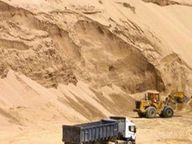 ठेकेदार को रोज 2 हजार डंपर भरना जरूरी, बिना मशीन 50 भी नहीं भर पा रहे मजदूर|होशंगाबाद,Hoshangabad - Dainik Bhaskar