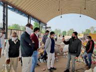 खेड़ब्रह्मा नगर पालिका टीम ने डूंगरपुर में देखे स्वच्छता के कार्य, अब अपने वहां करेगी लागू|डूंगरपुर,Dungarpur - Dainik Bhaskar