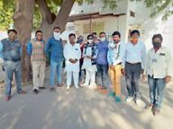 नगर निगम की परिवेदना कमेटी के सामने पेश होकर बोलीं पीड़िता - मुझे न्याय चाहिए, उसे नौकरी से निकाल दो|जोधपुर,Jodhpur - Dainik Bhaskar