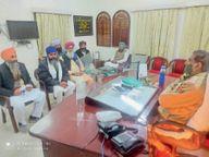 गुरुद्वारा 11 जी सेे श्री गुरु ग्रंथ साहिब के लूट और अपहरण की घटना|श्रीगंंगानगर,Sriganganagar - Dainik Bhaskar