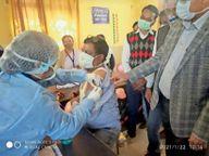 अब तक 1246 कर्मचारी बुलाए गए, इनमें से 1051 ने ही लगवाई वैक्सीन|राजसमंद,Rajsamand - Dainik Bhaskar