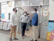 राहत : कोविड केयर सेंटर पहले ही बंद हाे चुका, अब आइसोलेशन वार्ड में बैड भी हो रहे हैं खाली|जावरा,Jaora - Dainik Bhaskar
